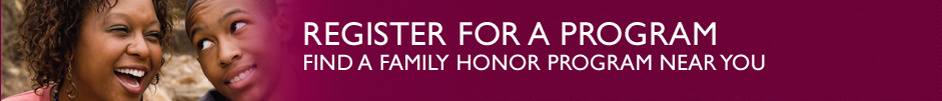 - Family Honor Banner
